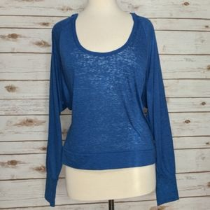Victoria's Secret long sleeve pullover hoodie top.